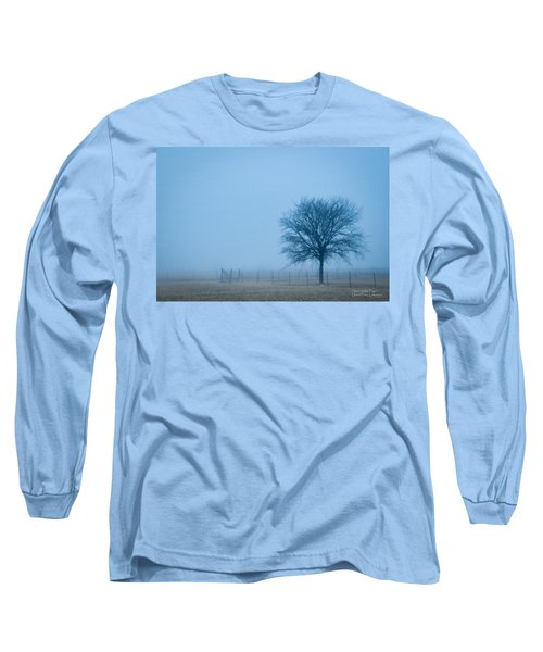 A Lone Tree In The Fog Long Sleeve T-Shirt
