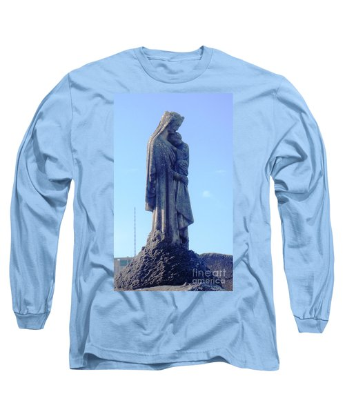 Long Sleeve T-Shirt featuring the photograph A Mother's Love by Alys Caviness-Gober