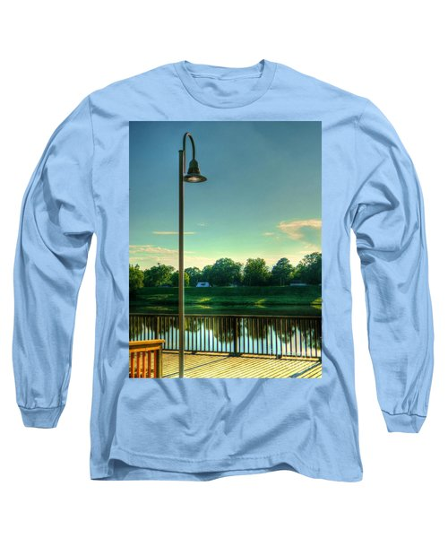 Long Sleeve T-Shirt featuring the photograph A Recall Of Yesterday by Ester  Rogers
