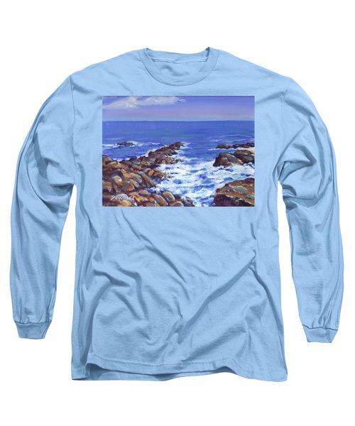 A Rocky Coast Long Sleeve T-Shirt