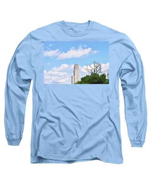 Long Sleeve T-Shirt featuring the photograph A Unique Perspective by Jean Goodwin Brooks