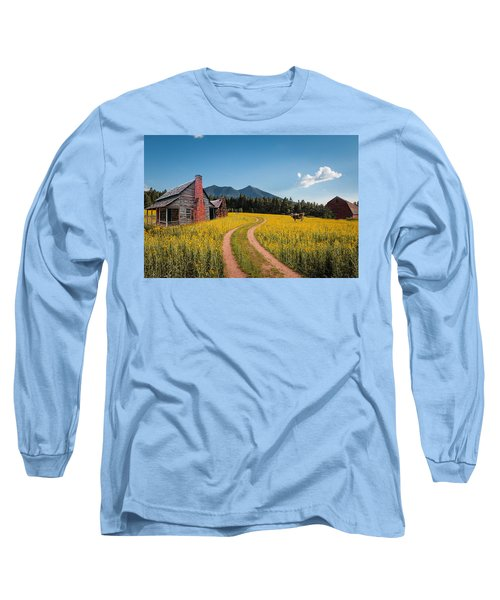 Abandoned Country Life Long Sleeve T-Shirt by Fred Larson