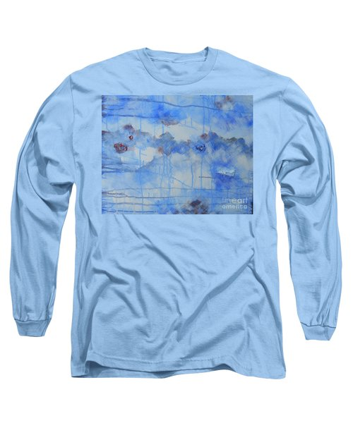 Abstract # 3 Long Sleeve T-Shirt by Susan Williams