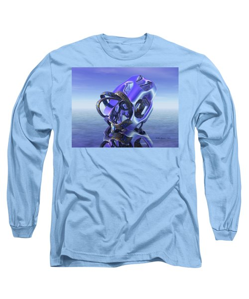 Abstract 333 Long Sleeve T-Shirt
