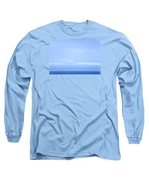 Abstract Seascape No. 07 Long Sleeve T-Shirt