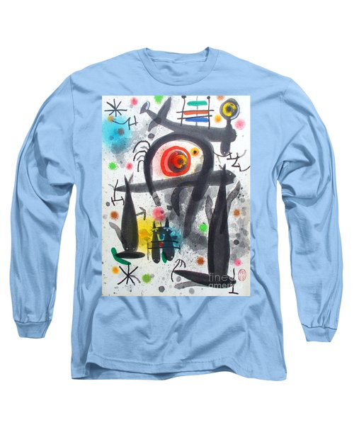 Acuatico Triunfo De La Imaginacion Long Sleeve T-Shirt by Roberto Prusso