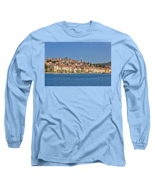 Adriatic Town Of Mali Losinj View From Sea Long Sleeve T-Shirt