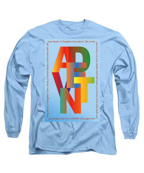 Advent Long Sleeve T-Shirt by Chuck Mountain