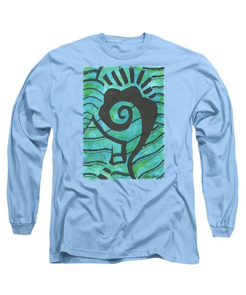 African Question Mark Long Sleeve T-Shirt