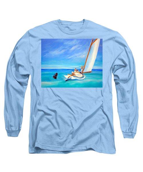 After Hopper- Sailing Long Sleeve T-Shirt