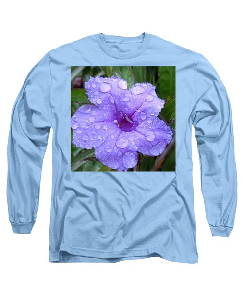 Long Sleeve T-Shirt featuring the photograph After The Rain #1 by Robert ONeil