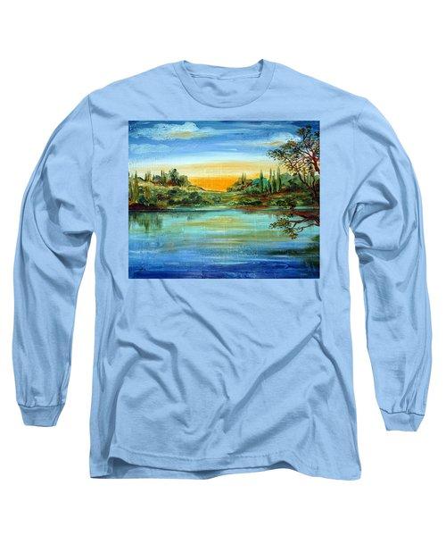 Alba Sul Lago Long Sleeve T-Shirt