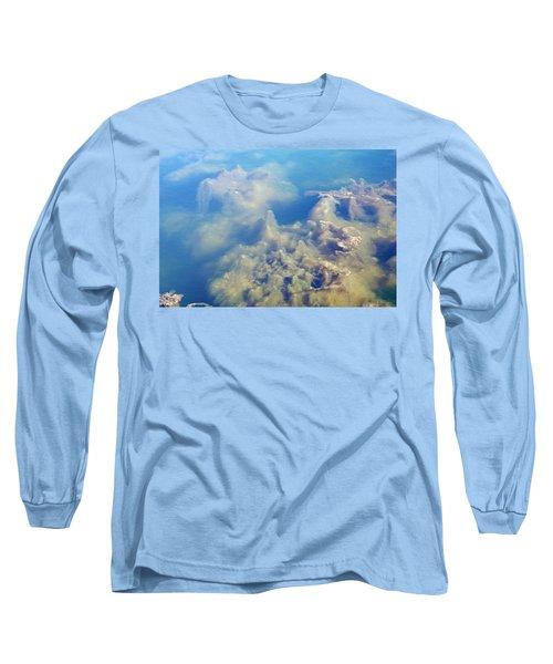 Algae Stalagmites Long Sleeve T-Shirt by Greg Graham