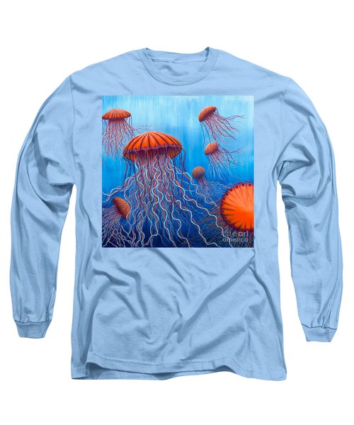 Ally's Orange Jellies Long Sleeve T-Shirt