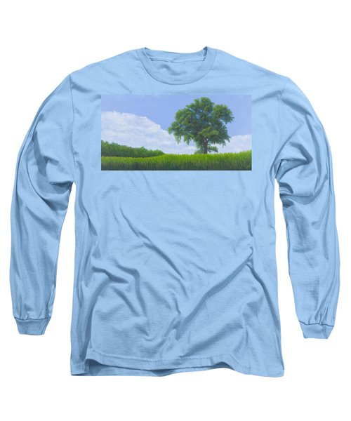 Alone Summer Long Sleeve T-Shirt by Garry McMichael