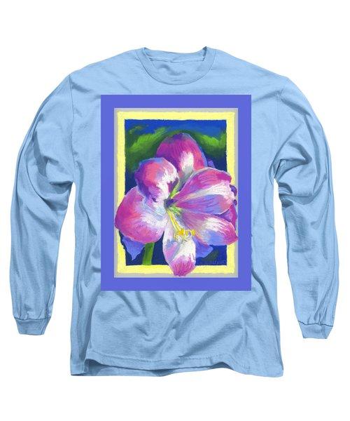 Amaryllis By Morning Long Sleeve T-Shirt
