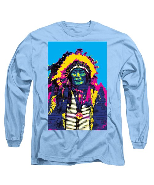American Indian Chief Long Sleeve T-Shirt