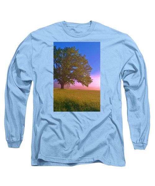 An All-american Sunrise Long Sleeve T-Shirt