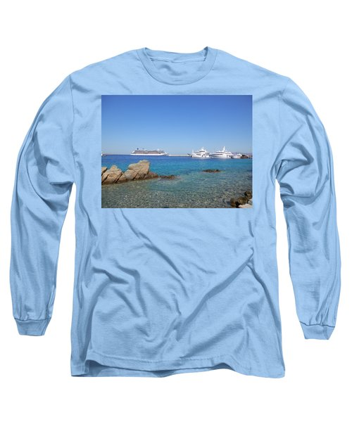 Anchored Ships Long Sleeve T-Shirt