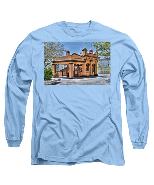 Angels Flight Landmark Funicular Railway Bunker Hill Long Sleeve T-Shirt