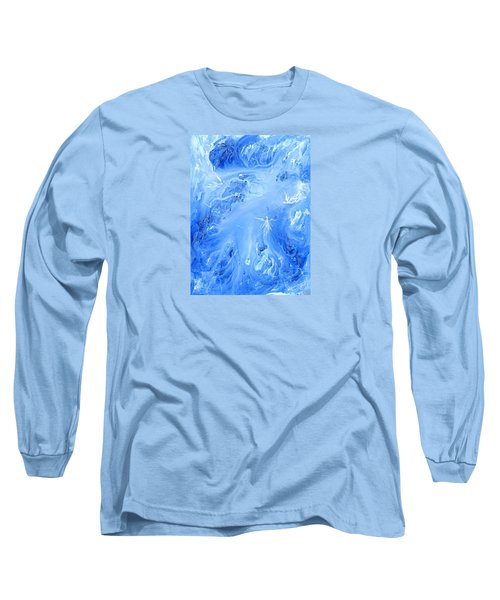 Angels In The Sky Iv Long Sleeve T-Shirt by Kume Bryant