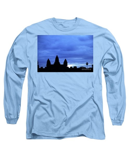Angkor Wat Sunrise 01 Long Sleeve T-Shirt