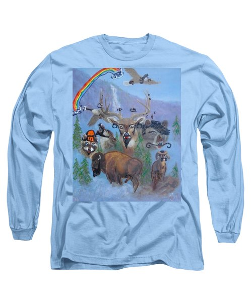 Animal Equality Long Sleeve T-Shirt by Lisa Piper