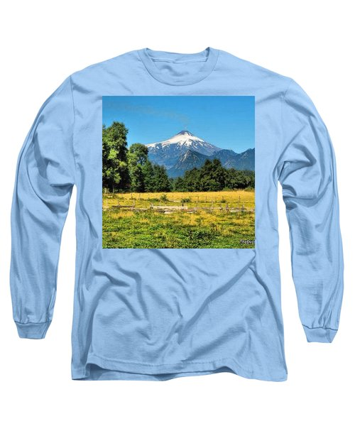 Another Sunny Day In Villarrica..with Long Sleeve T-Shirt
