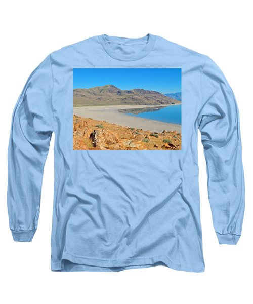 Antelope Island Long Sleeve T-Shirt by Dan Miller