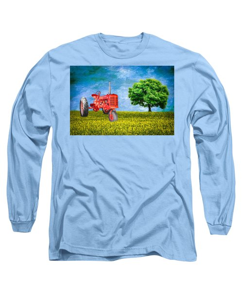 Antique Farmall Tractor Long Sleeve T-Shirt