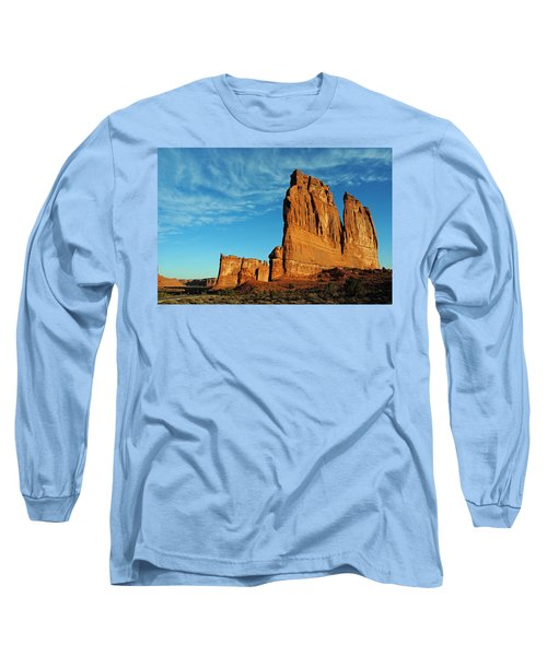 Long Sleeve T-Shirt featuring the photograph Arches National Park 47 by Jeff Brunton