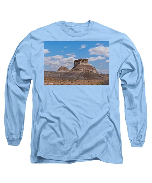 Long Sleeve T-Shirt featuring the photograph Arizona Desert And Mesa by Jeff Goulden