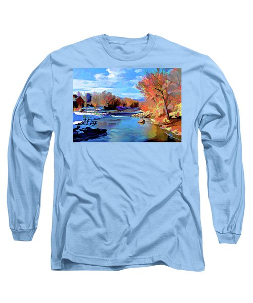 Arkansas River In Salida Co Long Sleeve T-Shirt