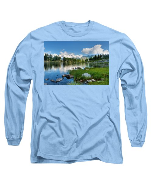 Arpy Lake - Aosta Valley Long Sleeve T-Shirt