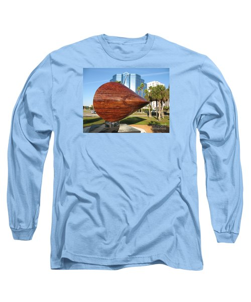 Long Sleeve T-Shirt featuring the photograph Art 2009 At Sarasota Waterfront by Christiane Schulze Art And Photography