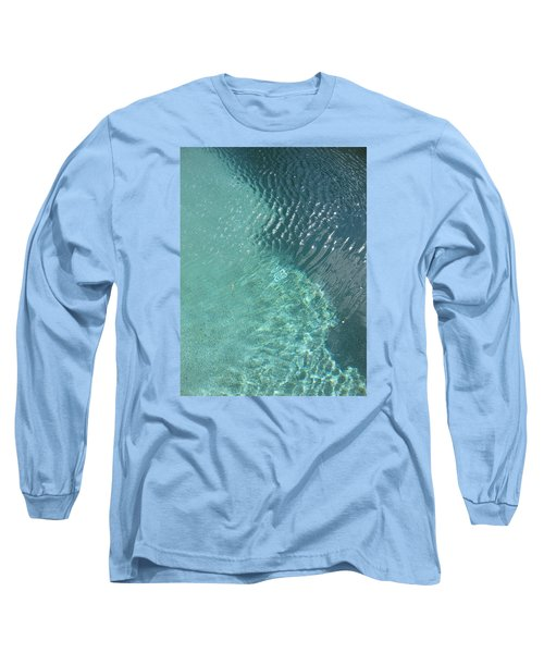 Art Homage David Hockney Swimming Pool Arizona City Arizona 2005 Long Sleeve T-Shirt by David Lee Guss