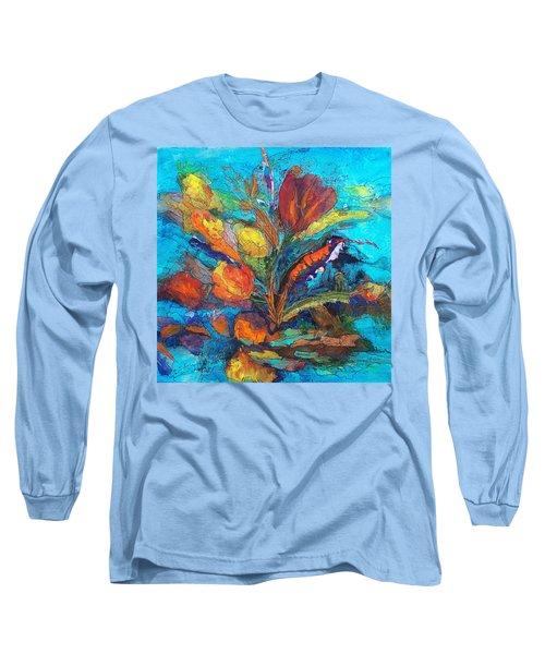 Autumn In Oklahoma Long Sleeve T-Shirt