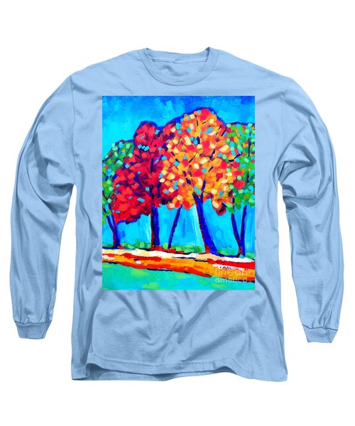 Autumn Trees Long Sleeve T-Shirt
