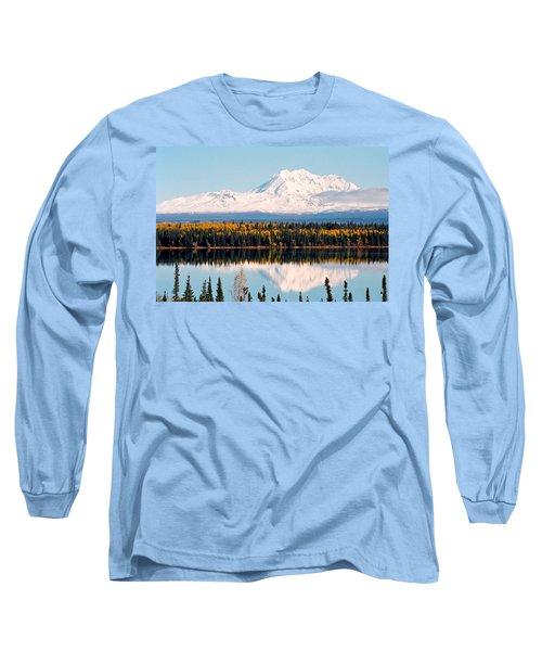 Autumn View Of Mt. Drum - Alaska Long Sleeve T-Shirt