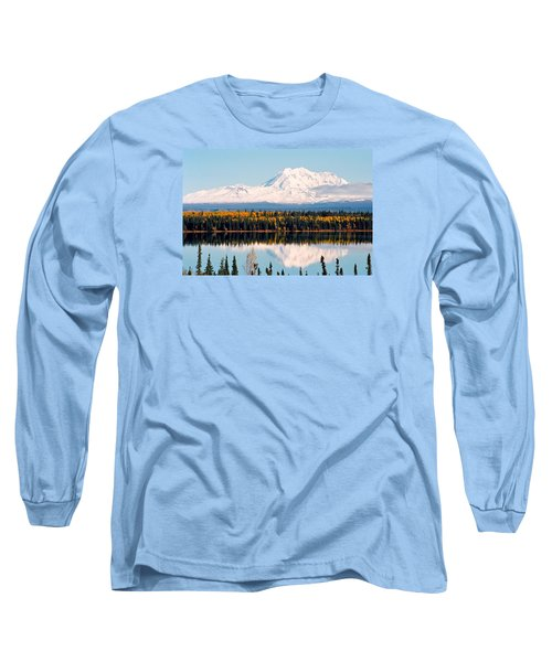 Autumn View Of Mt. Drum - Alaska Long Sleeve T-Shirt