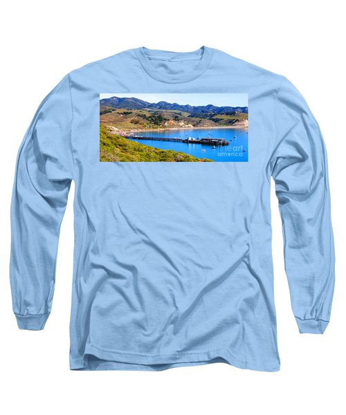 Avila Beach California Fishing Pier Long Sleeve T-Shirt