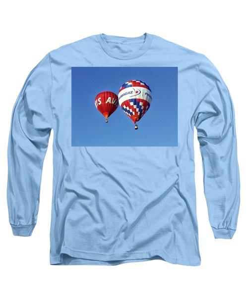 Avis Balloon Long Sleeve T-Shirt by John Swartz
