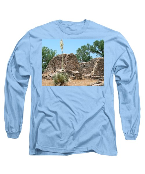 Aztec Ruins National Monument Long Sleeve T-Shirt by Laurel Powell
