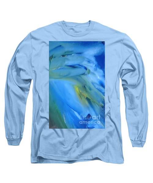 Azul Long Sleeve T-Shirt by Reina Resto