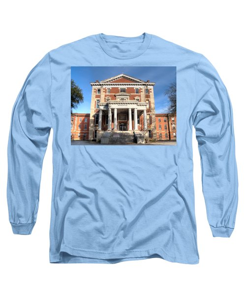 Babcock Building-2 Long Sleeve T-Shirt by Charles Hite