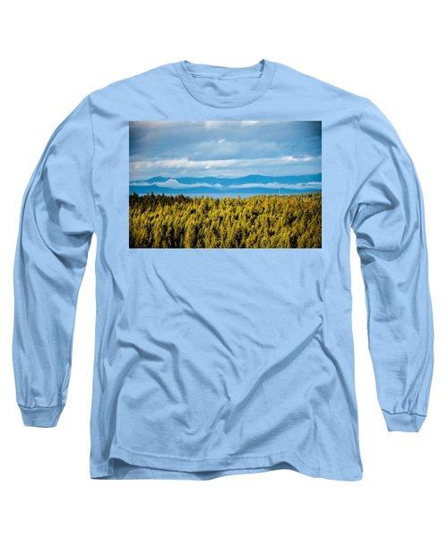 Backroad Ocean View Long Sleeve T-Shirt