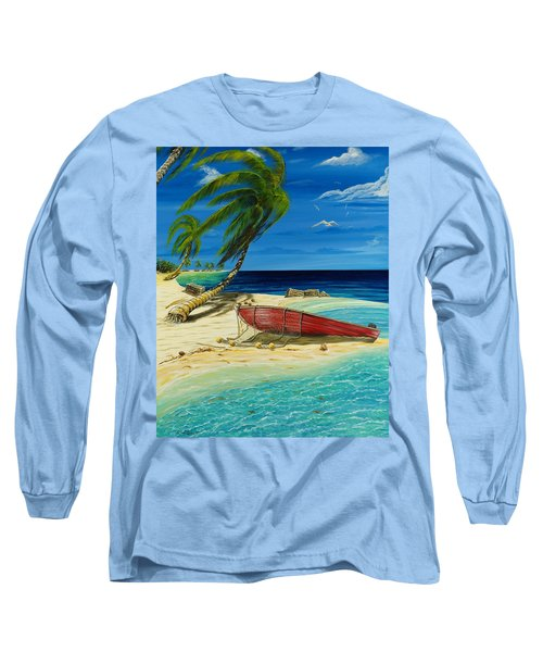 Bahama Beach Long Sleeve T-Shirt