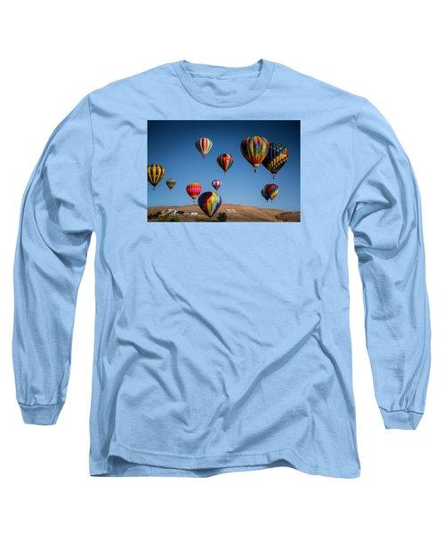 Balloons Over Northern Nevada Long Sleeve T-Shirt