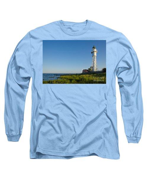 Baltic Sea Lighthouse Long Sleeve T-Shirt by Kennerth and Birgitta Kullman