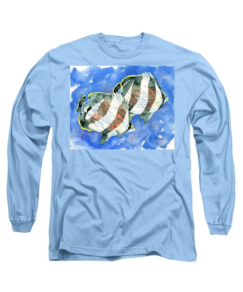 Banded Butterflyfish Long Sleeve T-Shirt